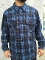 bright blue Pendleton board shirt all wool flannel 2015