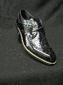 Stacy Adams Wingtip Daytons Patent Black