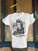 Women's Chola by Felipe Morales T-Shirt White