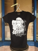 Women's Chola by Felipe Morales T-Shirt Black