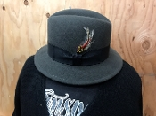 Soft Felt DMC Lowrider 2.0 Wool Hat Charcoal