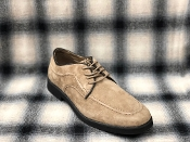 Hush Puppies Lace Up Suede Shoes Taupe