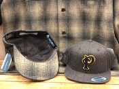 Pendleton Wool Snapback Cap Exclusive Brown Mix W/Brown Ombre