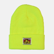 Ben Davis Acrylic Beanie Safety Yellow