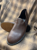 Greenspan's Leather Romeos Brown