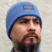 Pendleton Acrylic Beanie Mineral Blue