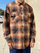 Pendleton CPO Quilted Jacket Shirt Fall 2020 Brown Ombre