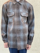 PREORDER Fall 2021 Pendleton Board Shirt Brown Mix Ombre